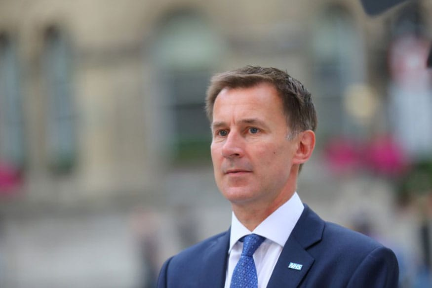 UK PM Hopeful Jeremy Hunt Urges Rival Boris Johnson to Stop Avoiding Scrutiny like a 'Coward'