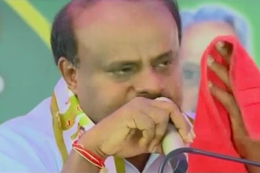 CM Kumaraswamy Breaks Down at Bengaluru Event, Says 'I Know Pain of Coalition Govt'
