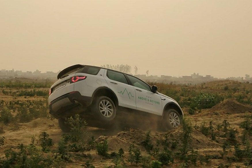 Land Rover The Above and Beyond Tour Noida. (Image: Land Rover India)