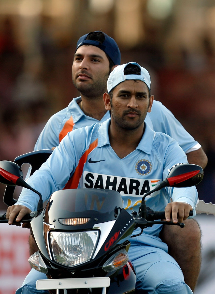 Yuvraj Singh's International Career in Pictures