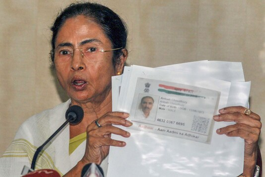 West Bengal CM Mamata Banerjee addresses a press conference over NRC draft list in Howrah (File photo: PTI)