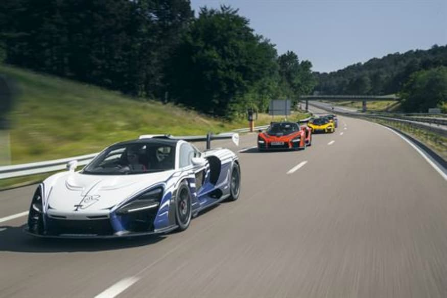 McLaren Senna 001 leads the drive to Paul Ricard. (Image: AFP Relaxnews)
