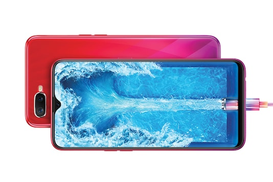 The Oppo F9 Pro comes in various colour options- Twilight Blue, Starry Purple and Sunrise Red.