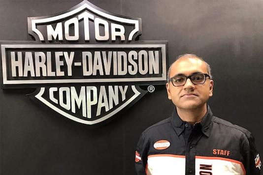 Piyush Prasad, Manager, Market Operations, Harley-Davidson. (Photo: Harley-Davidson India)
