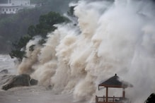Typhoon Maria Lashes Taiwan Before Making Landfall in China