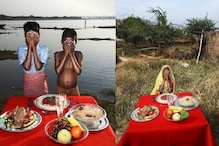 A Photographer Took Images of Fake Food In Front of Real, Starving People From Uttar Pradesh