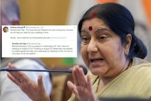 Sushma Swaraj Helped This Indian Man in US Who Almost Missed His Wedding
