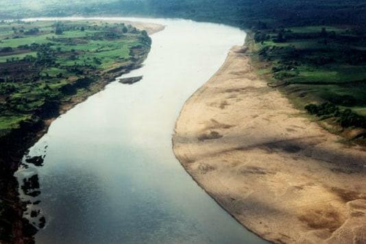 File photo of Narmada river. (Source: Namamidevinarmade.mp.gov.in)