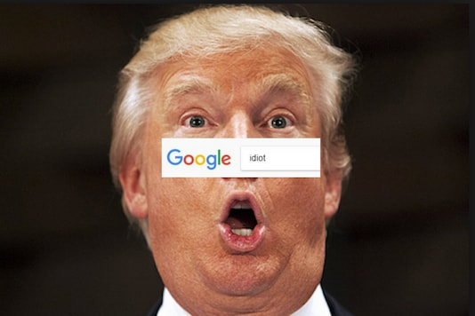 Donald Trump has Topped the Google Image Search Result For 'Idiot'