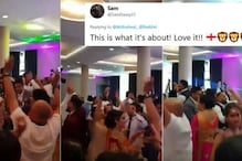 Punjabi Wedding in England Celebrating the Country's Victory is the Perfect Start to the Semi Finals