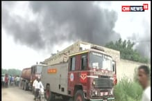 Massive Fire in Warehouse in Ludhiana