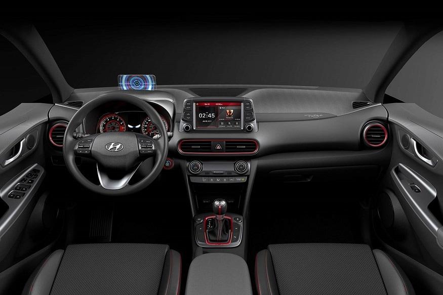 Hyundai Kona Iron Man Edition Interiors. (Image: Hyundai)