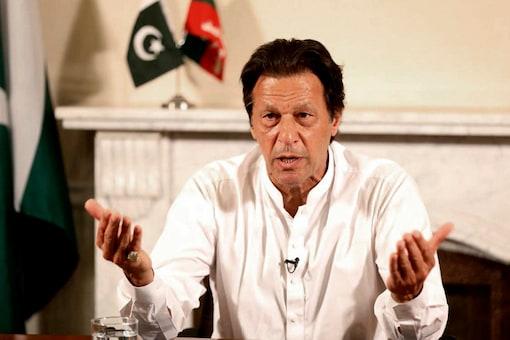 File photo of Pakistan PM Imran Khan. (Image: AP)