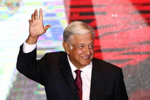 Mexican President Andres Manuel Lopez Obrador . (Reuters)