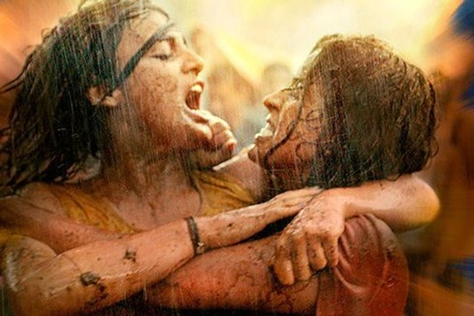 A still from Pataakha.