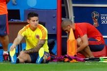 FIFA World cup 2018: Rodriguez Still an Option Against England, Says Coach Pekerman