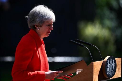 File photo of British Prime Minister Theresa May. (REUTERS/Hannah McKay)
