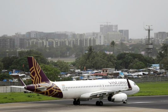 Vistara airlines. (Image: Reuters)