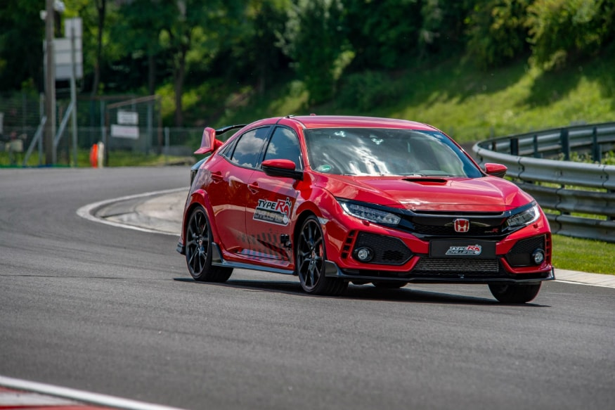 The Honda Civic Type R Challenge 2018. (Image: AFP Relaxnews)
