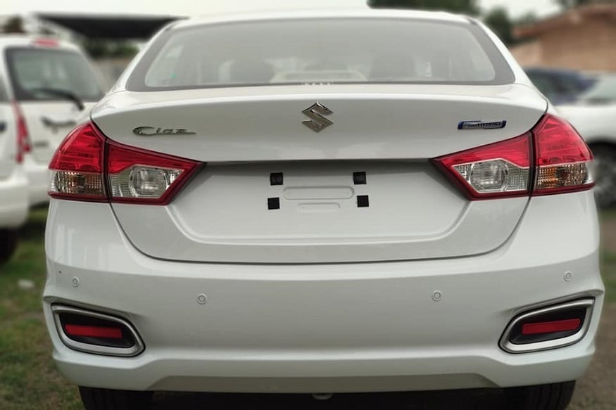 2018 Maruti Suzuki Ciaz Facelift Rear. (Image:Source)