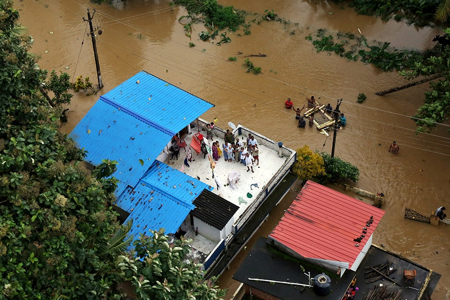 UAE Offers Rs 700 Crore Aid for Flood-hit Kerala as Residents Try to Rebuild