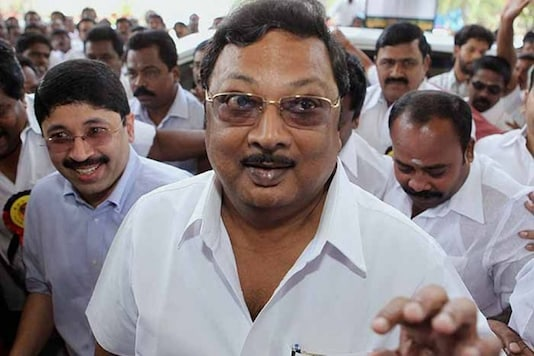 File photo of expelled DMK leader and son of late chief minister M Karunanidhi MK Alagiri. (PTI)
