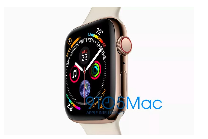 Apple Watch Series 4 Images Show Bigger Display With Higher Resolution