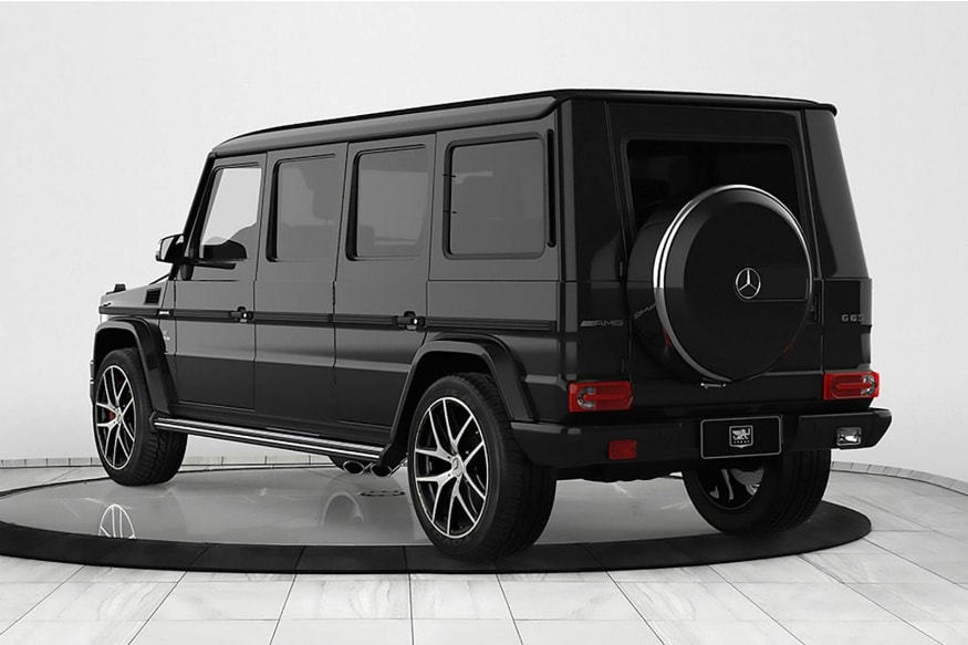 Bulletproof Mercedes-Benz G63 AMG Armoured Limousine Worth