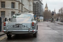 Aston Martin to Build 25 Models of James Bond's Iconic Gadget Equipped DB5
