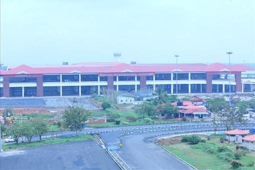 File photo of Kochi International Airport.
