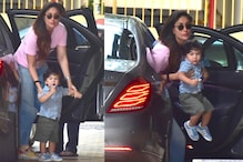 Taimur Accompanied Mommy Kareena Kapoor on 20-day Shoot for Laal Singh Chaddha