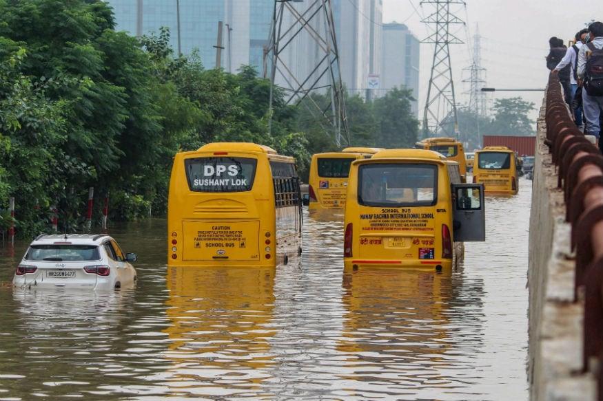 Gurgaon Flooding