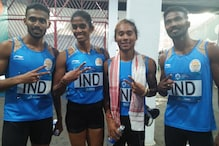 Asian Games: Team India Clinch Historic Silver in Mixed 4x400m Relay
