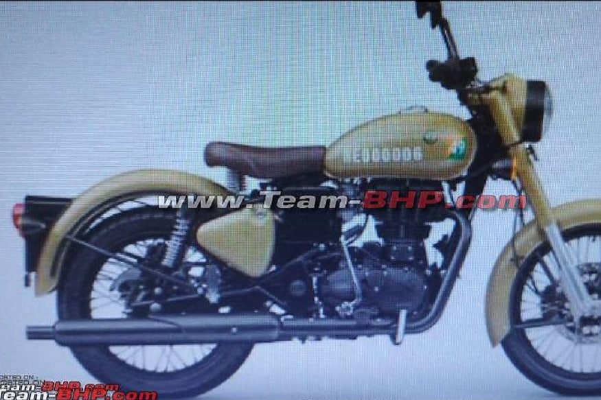New Royal Enfield Motorcycle . (Image: Team-bhp forum)