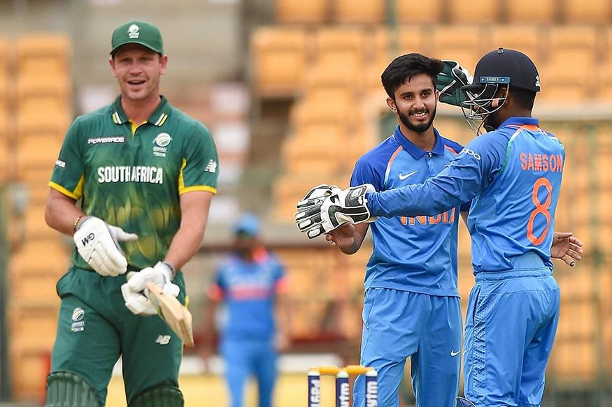 Match in Pics: India A vs South Africa A - Quadrangular Series