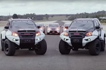 Isuzu D-Max and MU-X Based Concept X Off-Roaders Look Like Mean Machines