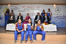Mercedes-Benz Signs MoU with Maharshi Karve Stree Shikshan Samstha to Conduct an All-Women Mechatronics Course in India