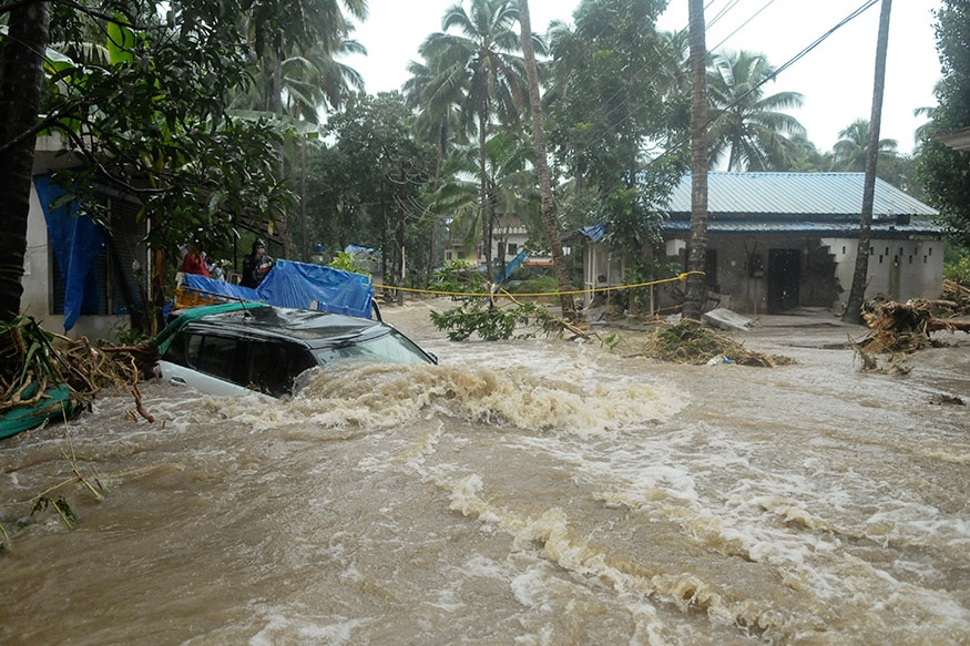 Heavy rains continue to pound Kerala; red alert issued in Idukki