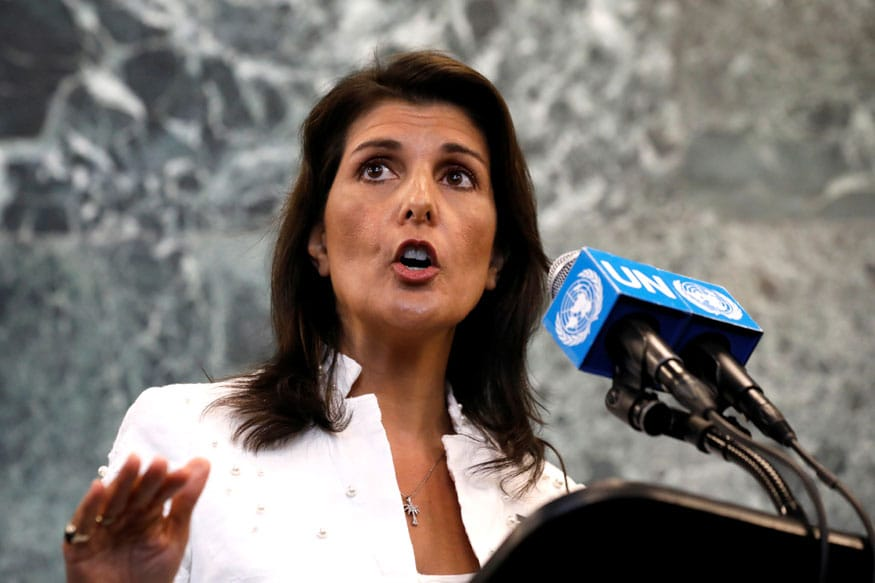 Nikki Haley Mocks Trump Days After Resigning as Ambassador to UN