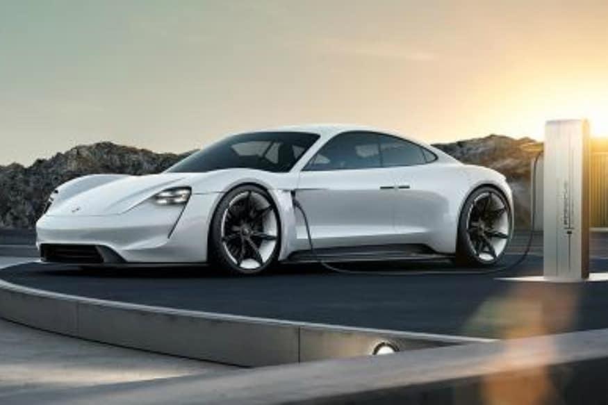 Porsche Mission E concept. (Image: AFP Relaxnews)