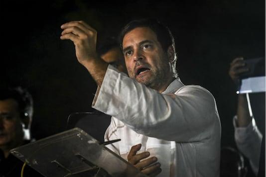 File photo of Congress president Rahul Gandhi. (Photo PTI)