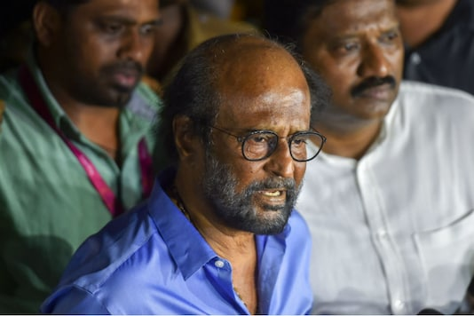 File photo of actor-turned-politician Rajinikanth.