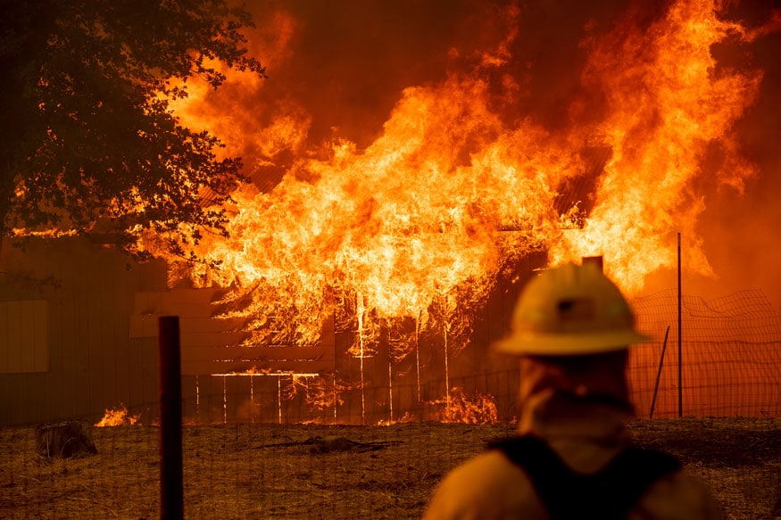 Spain Hit with 50 Fires, Some Deliberately Set in Northern Region