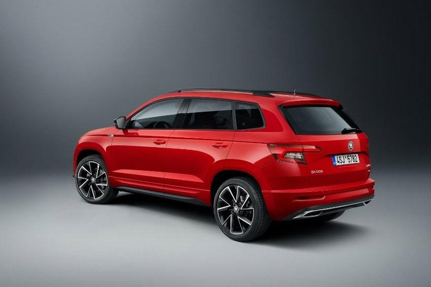 The new Skoda Karoq Sportline will debut at the 2018 Paris Motor Show. (Image: AFP Relaxnews)