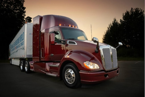 Second-generation Toyota hydrogen fuel cell heavy-duty truck. Photo for representation only. (Image: AFP Relaxnews)