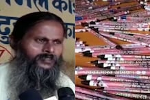 A Mahant From Uttar Pradesh Ashram is Making Pens From Old Newspapers to Save The Environment
