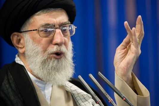File photo of Iran's Supreme Leader Ayatollah Ali Khamenei. (Image Courtesy: Reuters)
