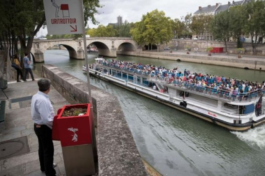 In Paris, Eco-Friendly Cubist Urinals Spark Snigger and Seething