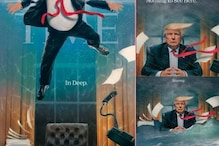 Why Did TIME Magazine Cover Feature US President Donald Trump Drowning In Oval Office?