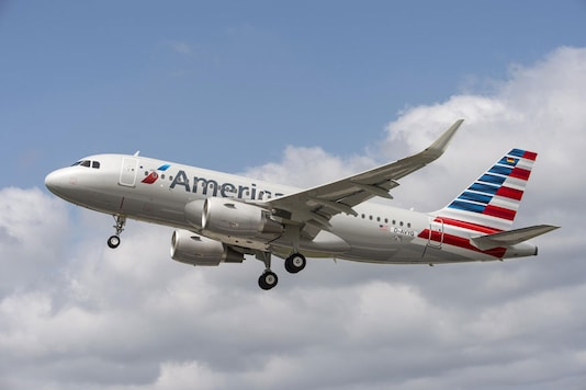 File photo of American Airlines airplane. (Image: AFP)